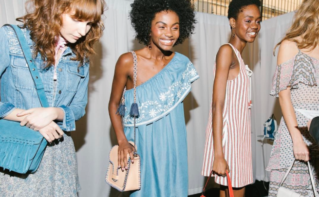 Rebecca Minkoff's new collection is all retro, feminine vibes, and we're fully in love with all of it