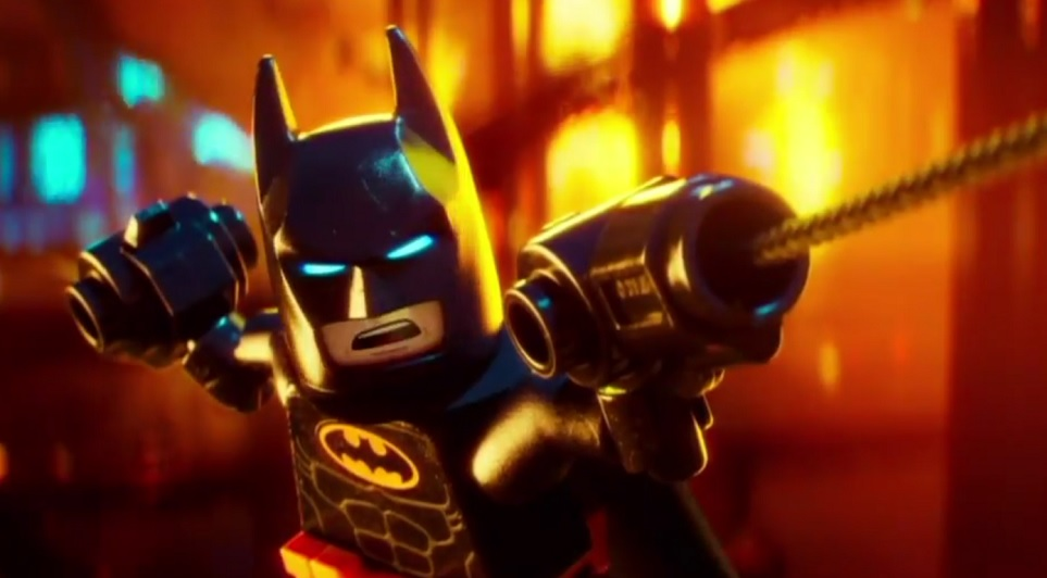 """We're cracking up: Jimmy Kimmel mashed up """"Fifty Shades Darker"""" with """"The Lego Batman Movie"""""""