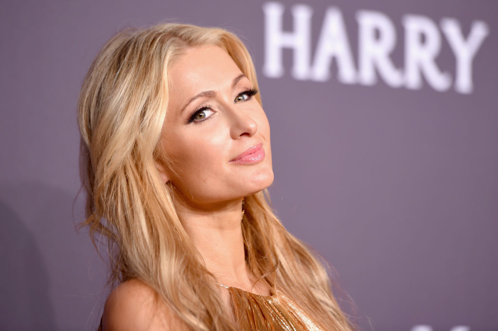 Paris Hilton walked in a New York Fashion Week show, because the 2000s are back, babe