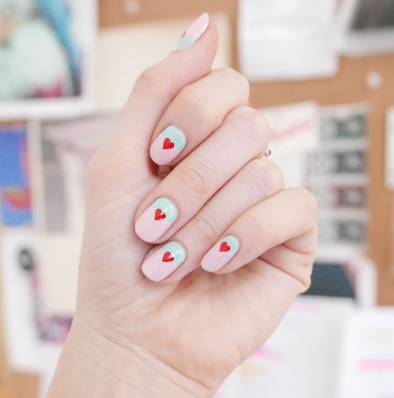Celebrity nail artist Madeline Poole teaches us how to do cute Galentine's Day nail art
