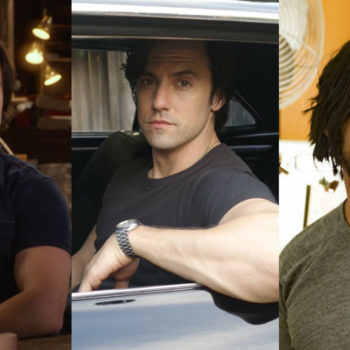 "Yeah cool, Milo Ventimiglia shaved for ""This Is Us"" — but could it also be for ""Gilmore Girls?"""
