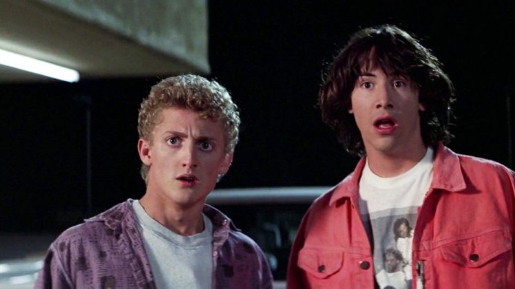 "Keanu Reeves just revealed details about ""Bill and Ted 3"" and they're EXCELLENT"