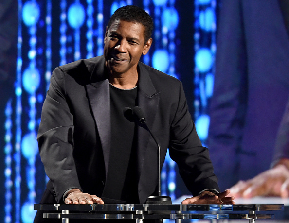 Denzel Washington can't stop gushing about Viola Davis, and we're right there with him