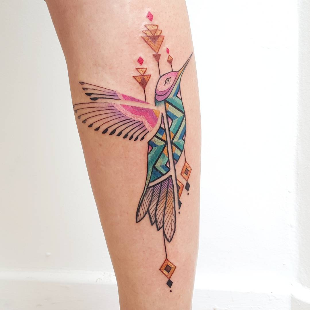 These Amazonian art-inspired tattoos are *so* beautiful, and we want them all