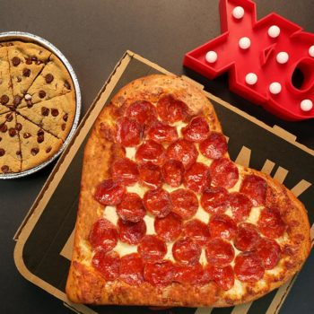Red Alert: Pizza Hut has a Valentine's Day pizza, and it's perfect for low-key V Day plans
