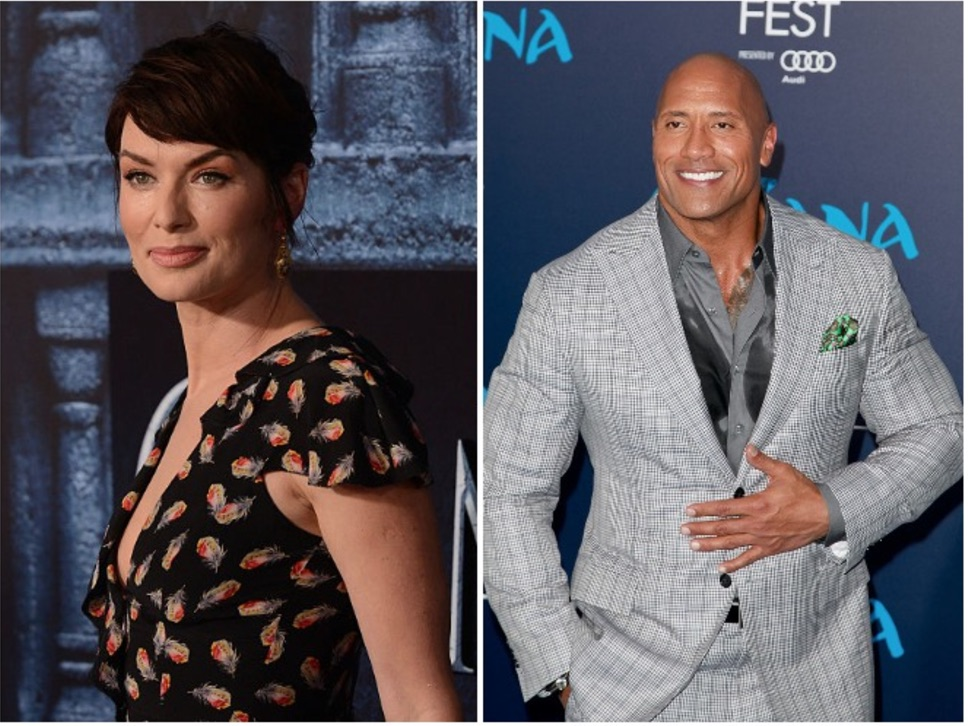Cersei Lannister and The Rock are partnering up on a project that involves fighting, and we are truly intrigued