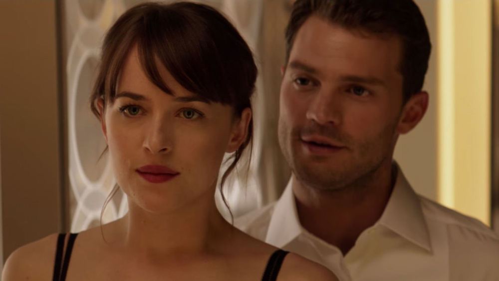 """Wait, there's ALREADY a teaser for the next """"Fifty Shades"""" movie?"""