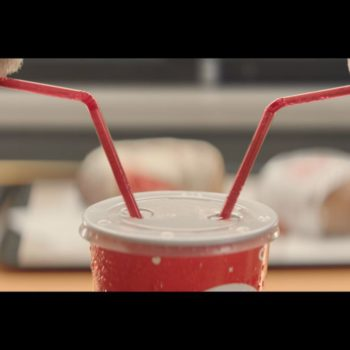 Burger King now has a special Valentine's cup for true romantics