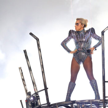 Lady Gaga might be more excited about her Grammy performance than we are