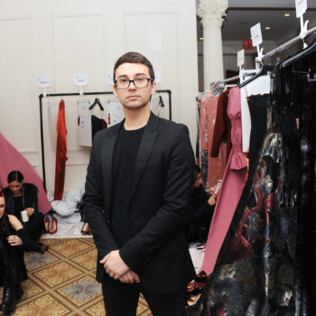 "You can actually afford Christian Siriano's ""People Are People"" tee from his NYFW show & the proceeds go to a great cause"