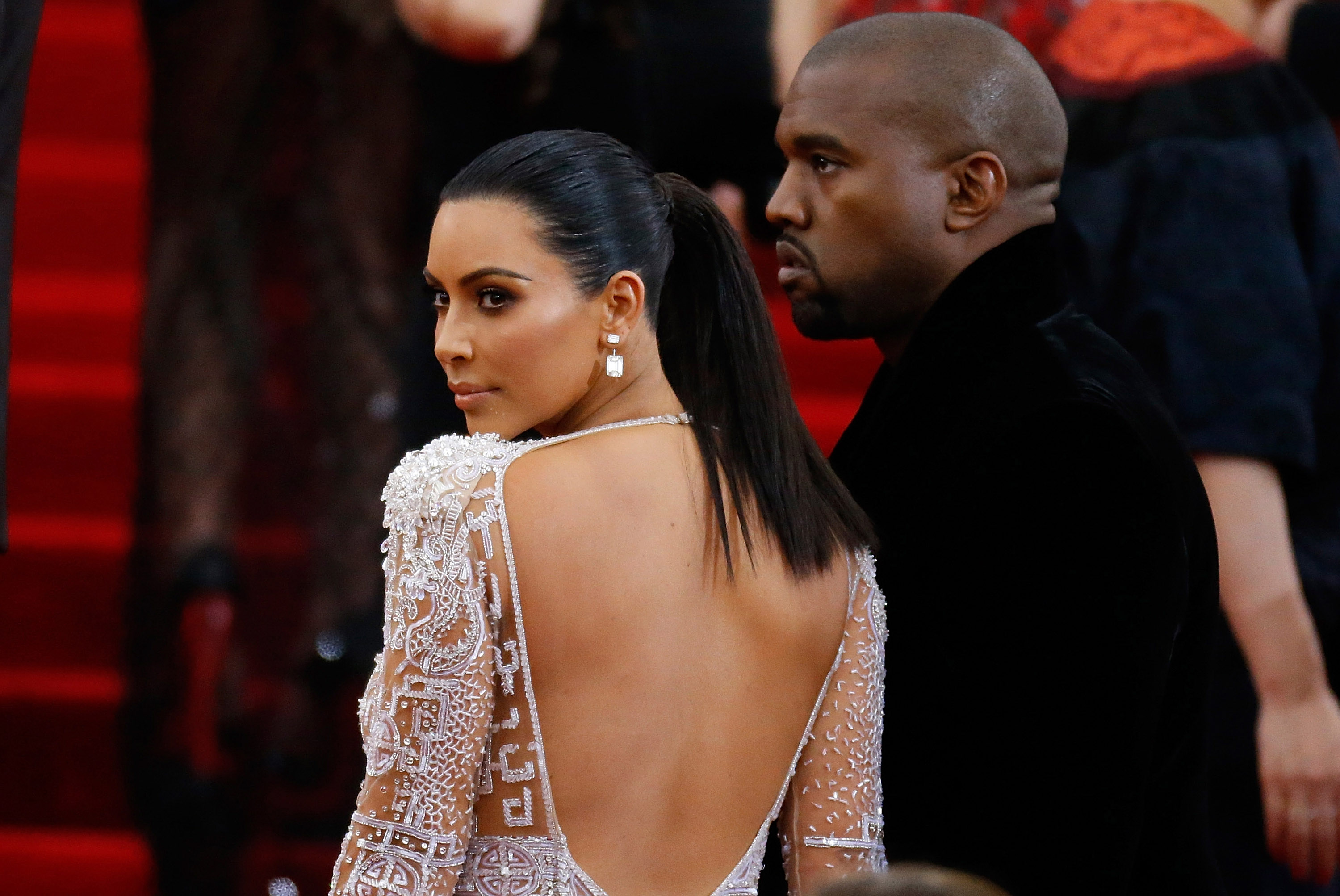 Kim Kardashian is saving all of her iconic outfits for her daughter, and she gave us a sneak peek