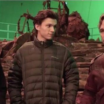 Tom Holland's humble reaction to working with Robert Downey Jr. and Chris Pratt is the sweetest thing we've seen all day