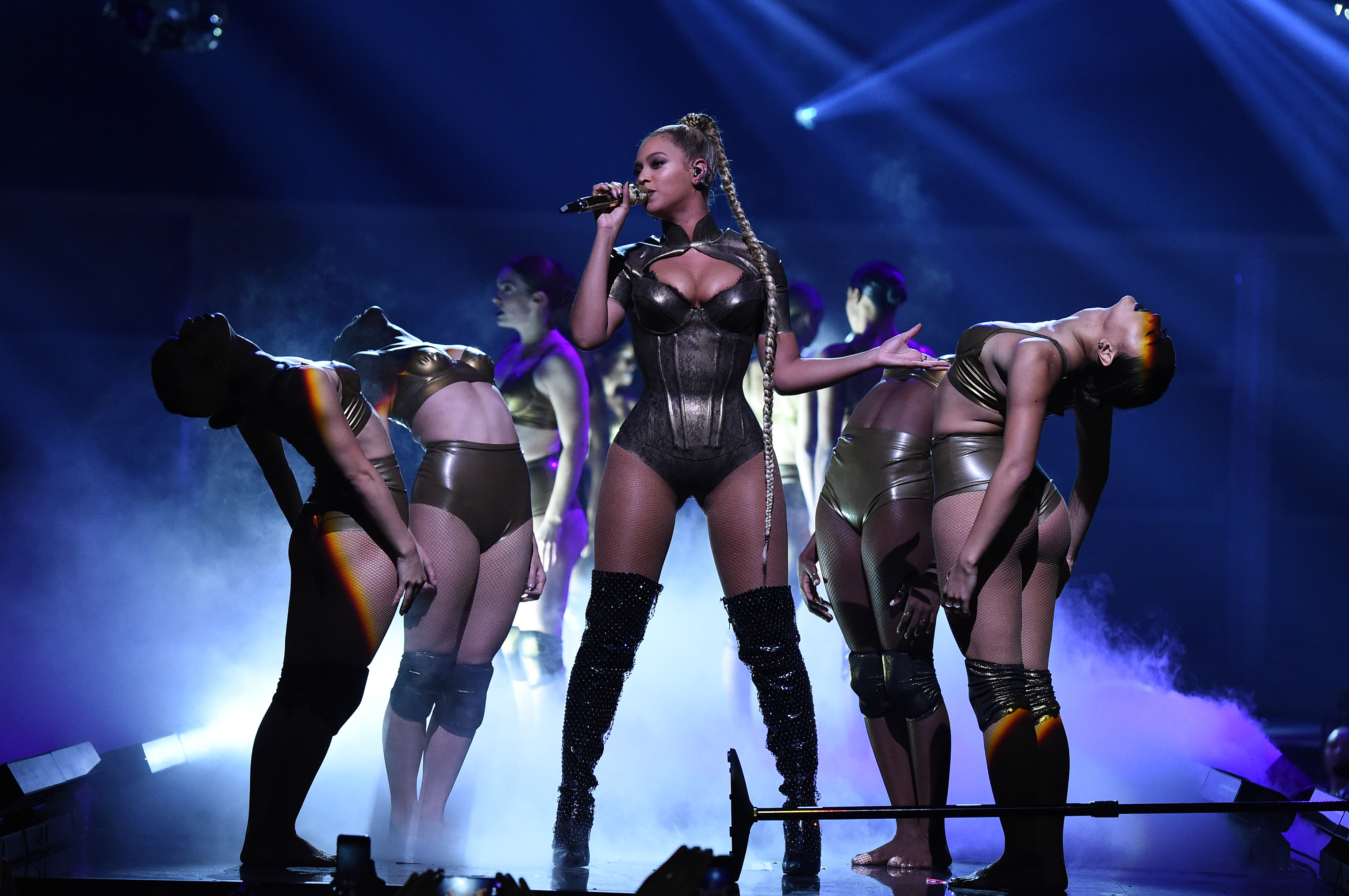 Wait, is Beyonce performing at the Grammys or not? She's being very mysterious about it