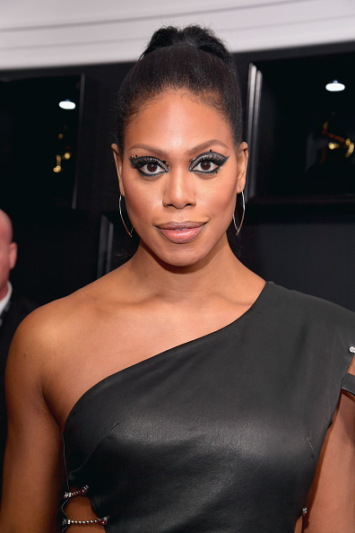 Laverne Cox was feeling herself on the Grammys red carpet, and honestly, no one can blame her