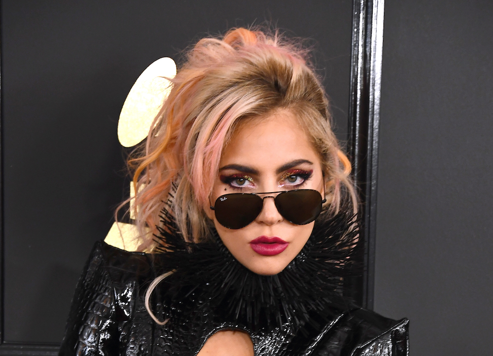 Lady Gaga is rocking some fierce underboob at the 2017 Grammys