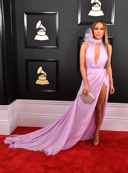 J Lo Threw Back To Her Iconic Green Grammys Dress So Let