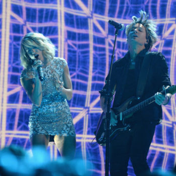"Carrie Underwood and Keith Urban's Grammy performance brought out ""The Fighter"" in us"