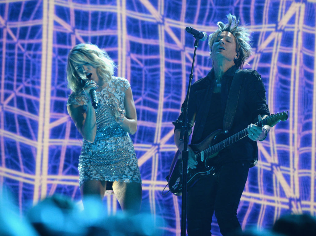 """Carrie Underwood and Keith Urban's Grammy performance brought out """"The Fighter"""" in us"""