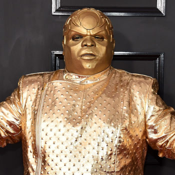 CeeLo Green's Grammy outfit has become a huge meme