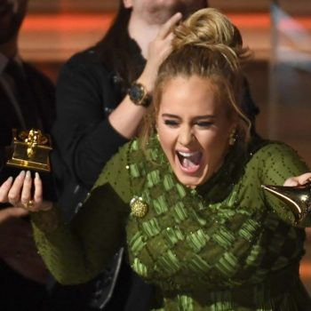 Adele pulled a Cady Heron, and ended up giving half of her Grammy to Beyoncé last night