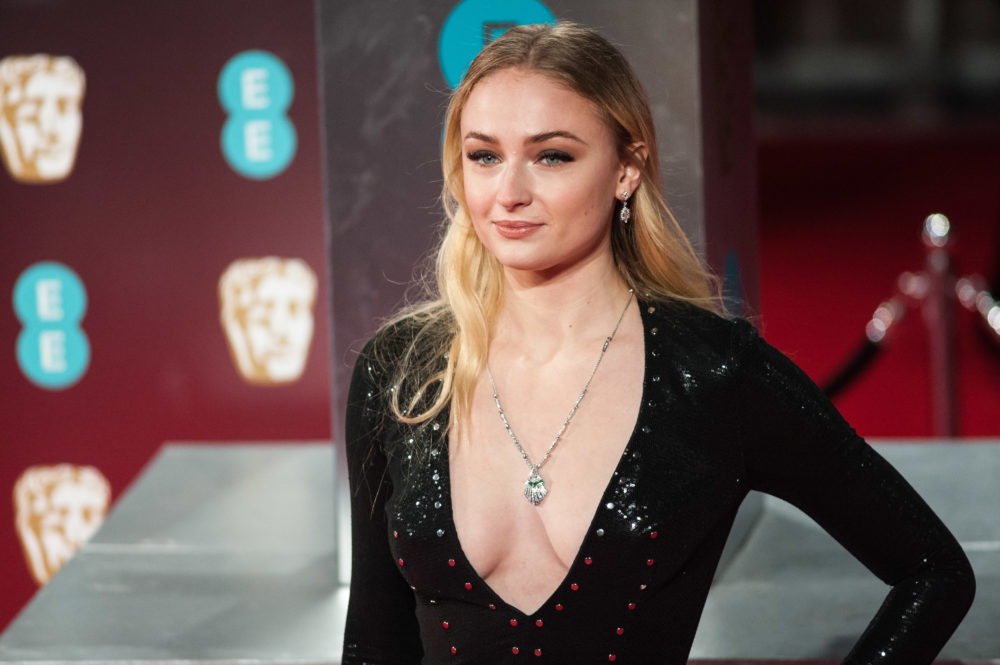 "Why fans think Sophie Turner's glamorous BAFTAs look is a ""Game of Thrones"" spoiler"