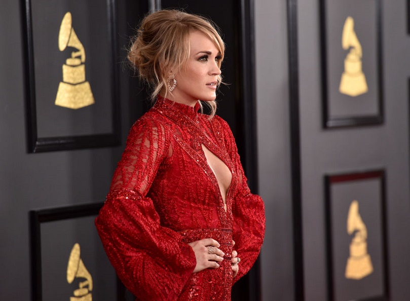 Carrie Underwood prepared for the Grammys just like we would have