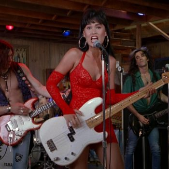 "Here's how to copy Tia Carerre's outfits in ""Wayne's World,"" even though we're NOT WORTHY"