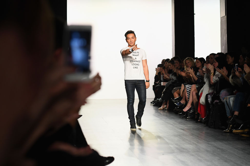Fashion designer Prabal Gurung's powerful runway show was inspired by all the women in his life