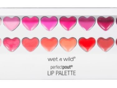 We're swooning hard over Wet n Wild's new heart-shaped makeup collection