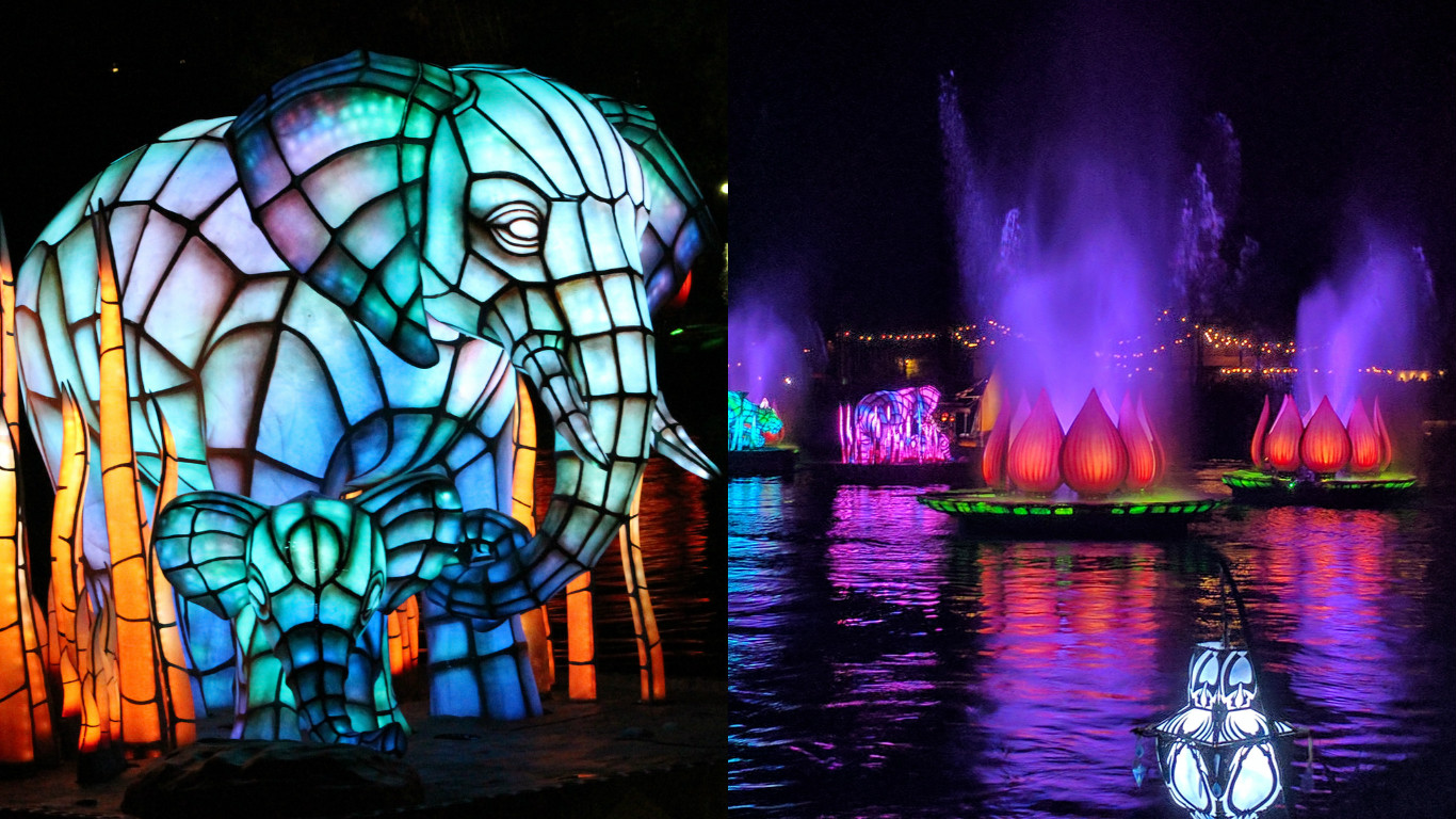 "Disney's newest water spectacular is like a psychedelic ""Lion King"" on steroids"