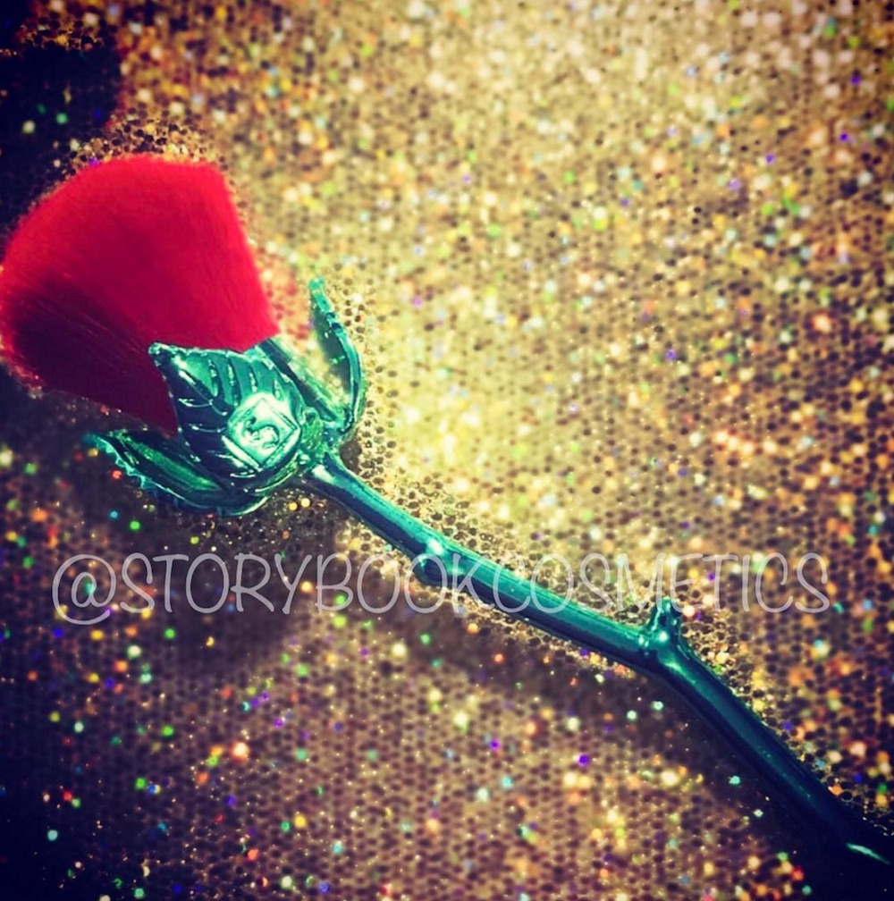 Storybook Cosmetics teased an updated look at their rose brush set, and it could be launching soon