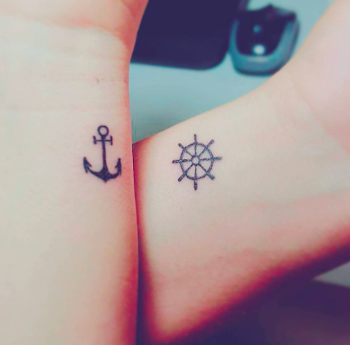 11 actually cool matching tattoos that you can get with your boo