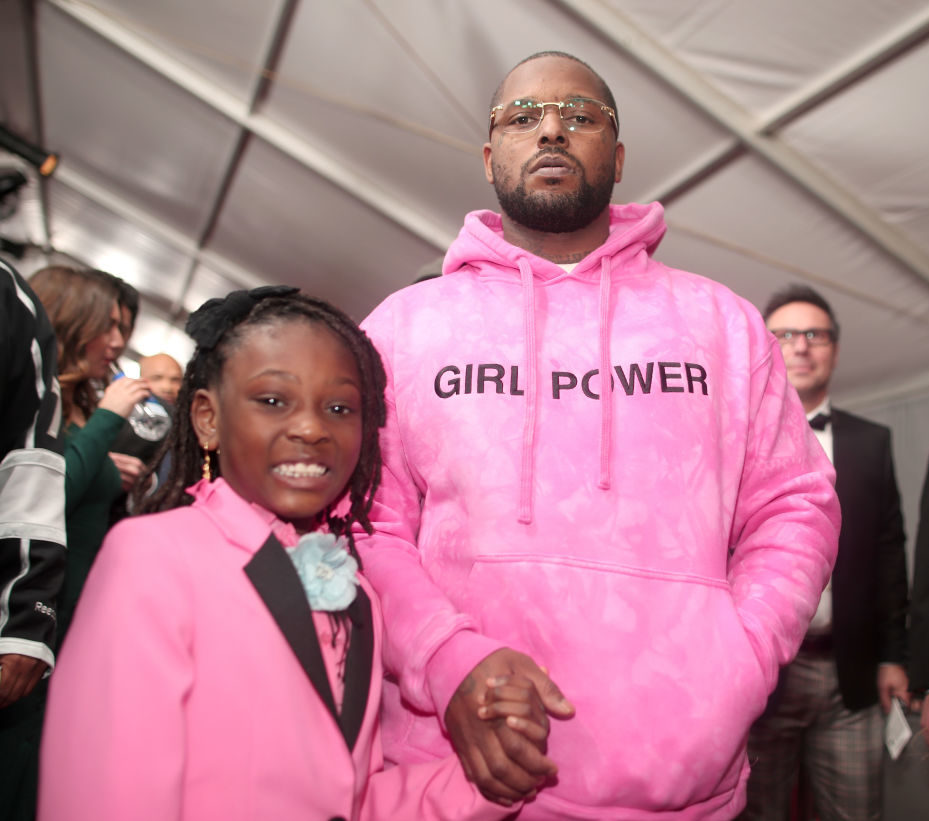 Rapper ScHoolboy Q and his daughter had a beautifully feminist moment on the GRAMMYs red carpet