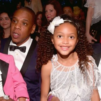 So THIS is who Blue Ivy's adorable BFF was at the Grammys