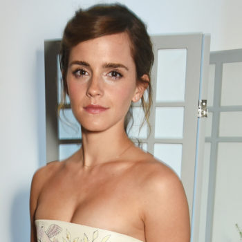 Emma Watson's latest dress looks like pages from a storybook we want to read ASAP