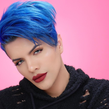 Gabriel Zamora talks about which brand he uses to get killer brows, and what drugstore product he uses to slay zits