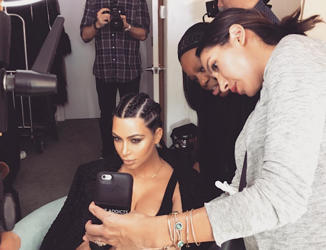 Kim Kardashian and Pat McGrath might be collaborating on something mysterious