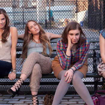 """We finally know why Lena Dunham wore Spanx and looked totally different in ONE early scene on """"Girls"""""""