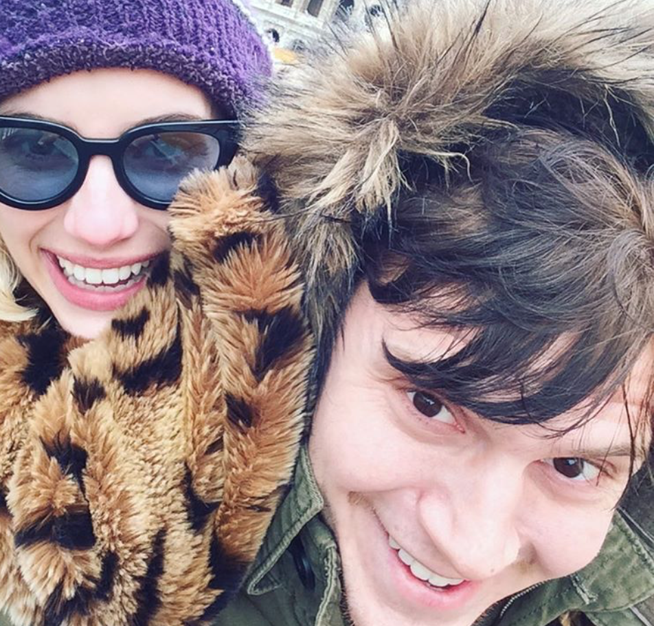 Evan Peters' Valentine's Day post to Emma Roberts is mysterious but totally sweet