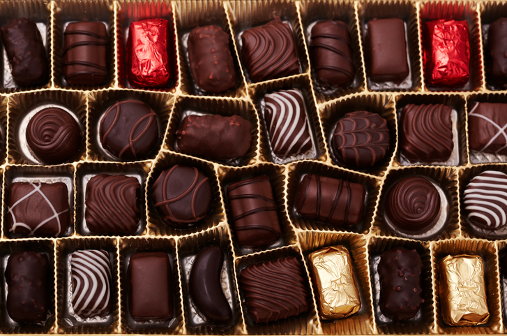Valentine's chocolate is cheaper this year and we're so planning on stocking up