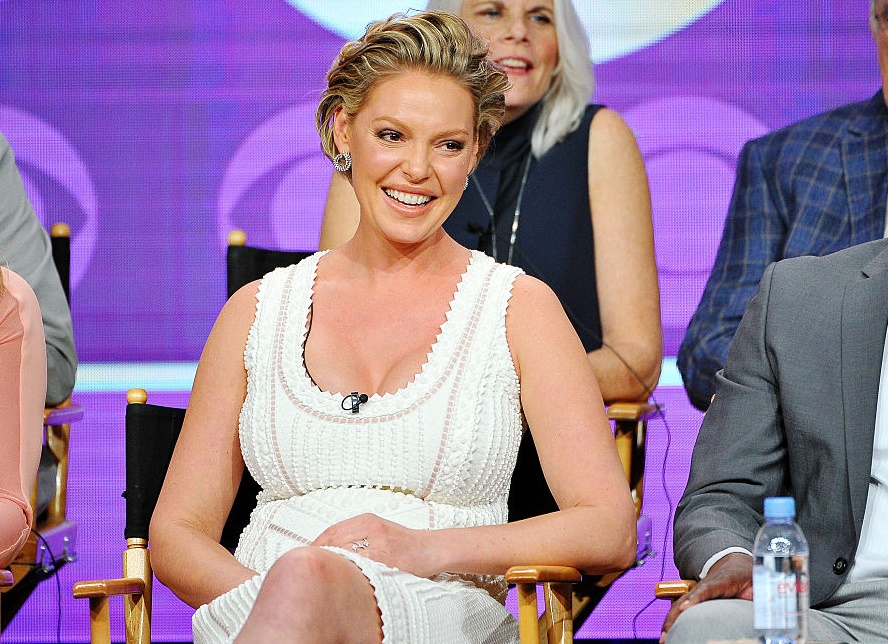 Katherine Heigl says John Mayer helped her seal the deal with her husband