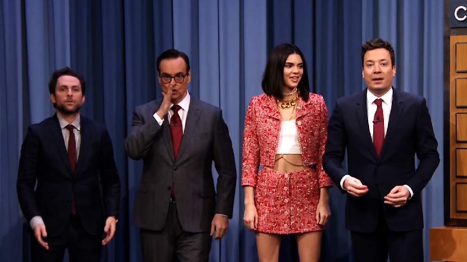 Kendall Jenner crushed charades with Jimmy Fallon last night