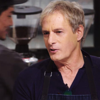 If you need more Michael Bolton in your life, here he is as an undercover singing barista