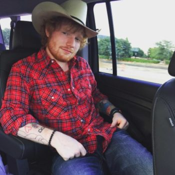 Ed Sheeran once threw a party with one very specific rule