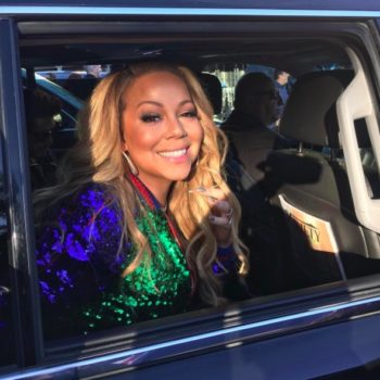 Mariah Carey celebrated Valentine's Day in a hot tub, as nature intended