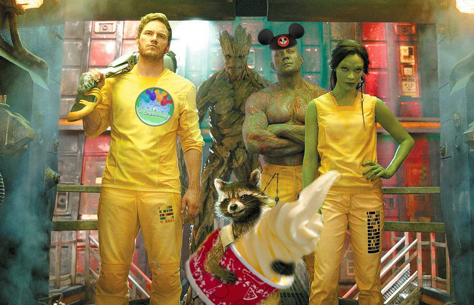 """We've got an opening date for Disneyland's new """"Guardians of the Galaxy"""" ride and we're screaming already"""