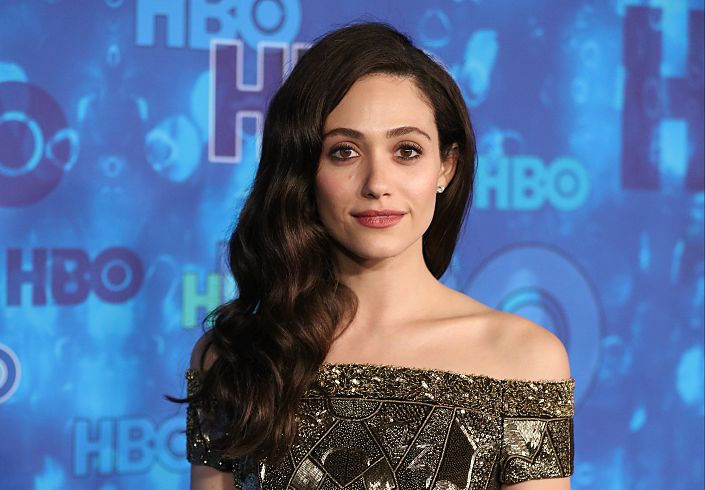 """Shameless'"" Emmy Rossum refreshingly explains why the look of her wedding dress doesn't matter"