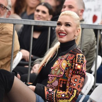 Gwen Stefani spent Valentine's Day alone in bed, and so much yes