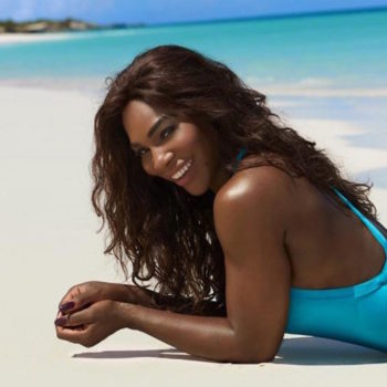 """Serena Williams rocks your new fave one-piece in this year's """"Sports Illustrated"""" Swimsuit Issue"""