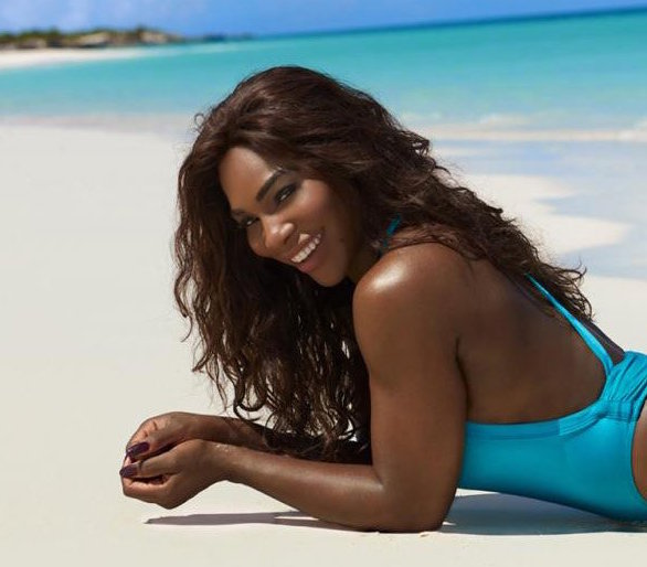 "Serena Williams rocks your new fave one-piece in this year's ""Sports Illustrated"" Swimsuit Issue"